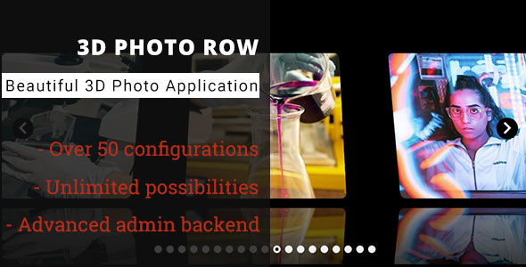 ✨3D Photo Row – Advanced Media Gallery Nulled