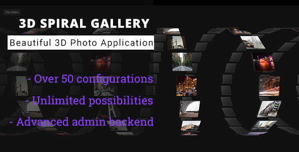 ✨3D Spiral Gallery – Advanced Media Gallery Nulled