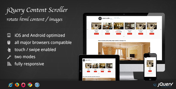 ✅ jQuery Content Scroller DZS Nulled