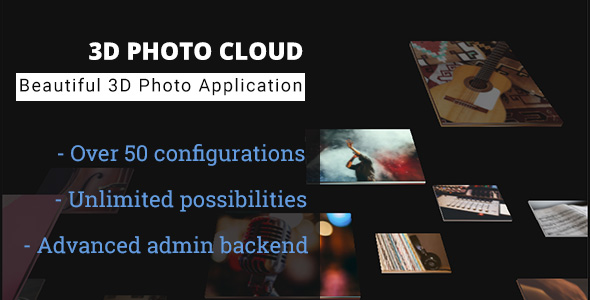 ✨3D Photo Cloud – Advanced Image Gallery Nulled